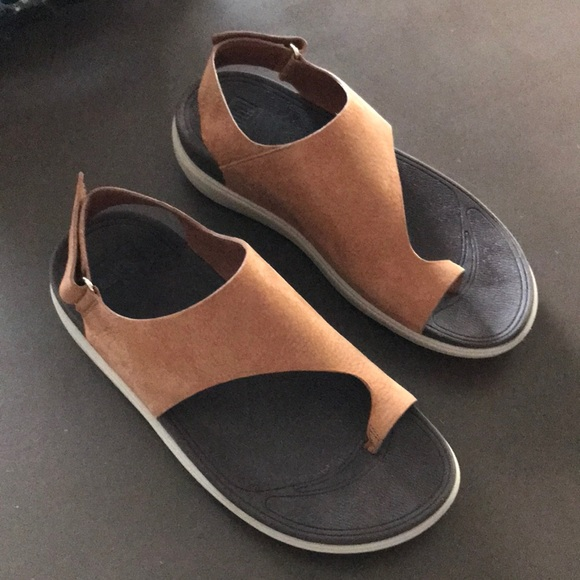 df2dd9e5147075 Fitflop Shoes - FITFLOP TOE SANDALS WORN ONCE TAN SIZE 7